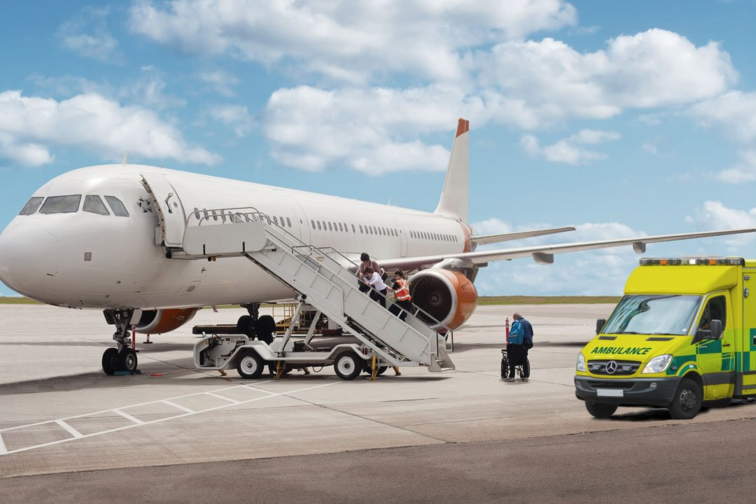 Medical Repatriation on a Scheduled Airliner