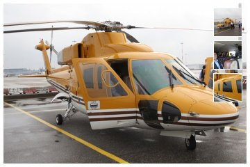 Helicopter charter for offshore wind farm tours